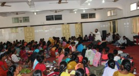 Women federation addressed by Disha to control girls trafficking and inclusion of women in governance process