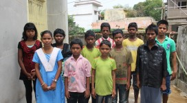 Children rescued  by CHILDLINE under operation muskan